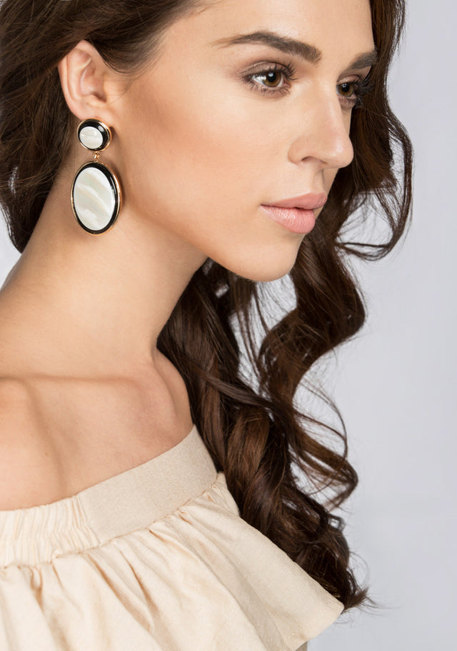 370b1a8525ab96 Mother of Pearl Earrings