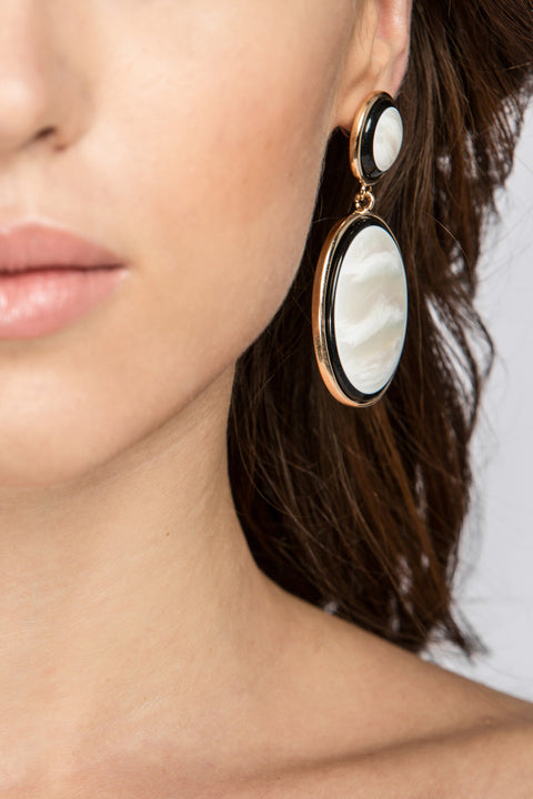 Mother of Pearl Earrings 34
