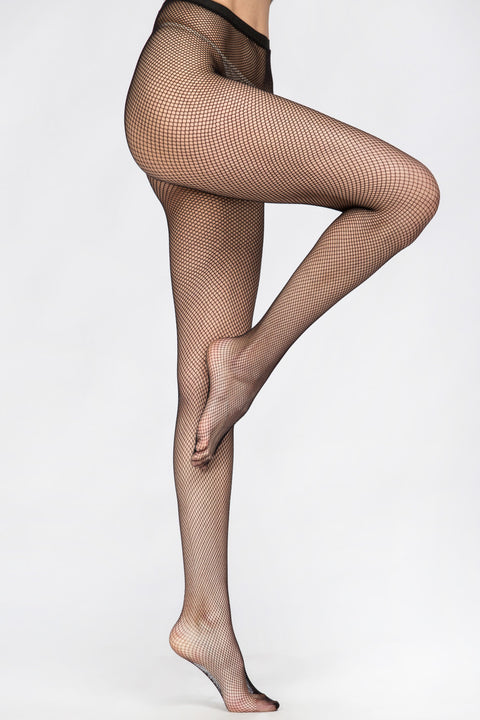 Black Fish Net Pantyhose 134