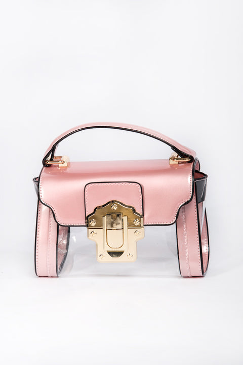 Pink Transparent Mini Pochette 95