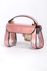 Pink Transparent Mini Pochette