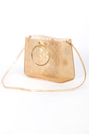 Gold Blush Quilted Jelly Bag