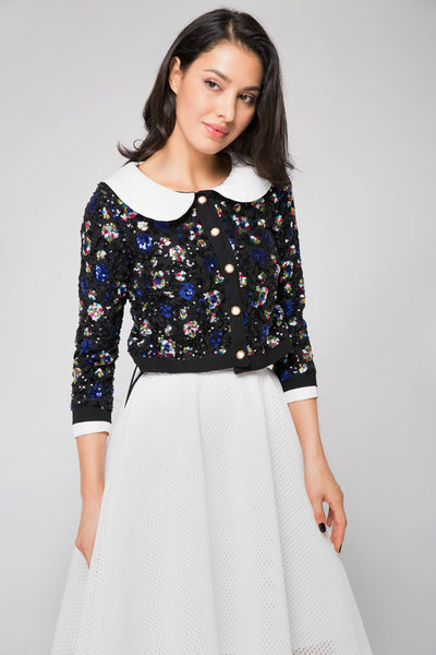 Buy Embellished button Down Top at OwnTheLooks.com