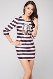 The Queen Striped Dress