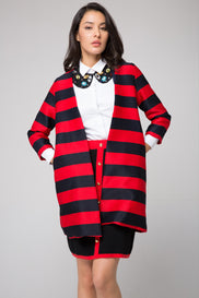 Striped Medi Blazer
