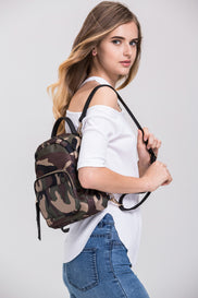 Camouflage Mini Back Pack