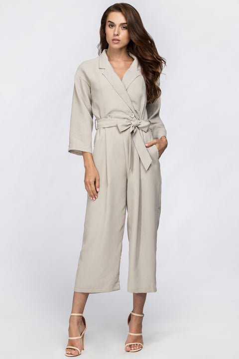 Cream Modern Women Jumpsuit 116