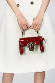 Red Transparent Mini Pochette