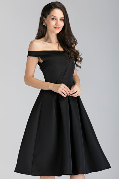 Own the look   blac asymmetric strap midi ball dress   ownthelooks 3 grande