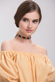 Rasta Choker Necklace