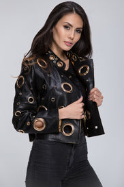 The Real Fouz - Ring Crop Jacket