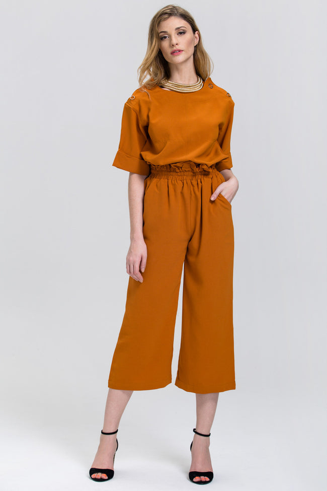 Terracotta Box Type Co-ord