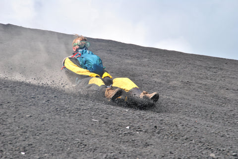Volcano Boarding Cerro Negro before Origin Adventure Park