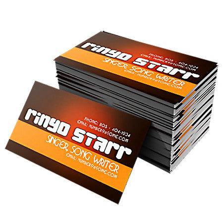 Business Cards 14PT UV Coated or Uncoated