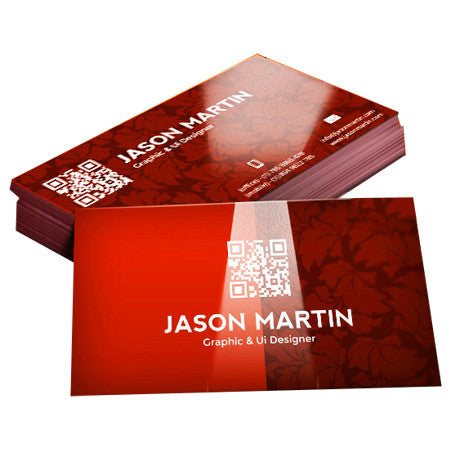 Business cards 12pt uv coated glossy business cards 22pt super thick 3mil glossy lamination reheart Gallery