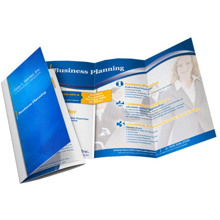 Brochures 80LB Gloss Text