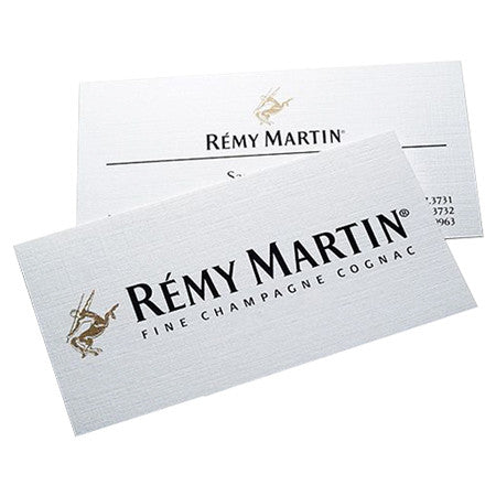 Business Cards 10PT Uncoated Cover Linen White