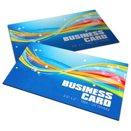 Business Cards 16PT UV Coated or Uncoated