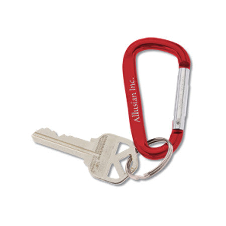 Coming Soon Logo Carabiner Key Tag