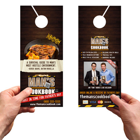 Door Hangers 14PT UV Coated Glossy