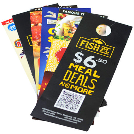 Door Hangers 100LB Gloss Cover