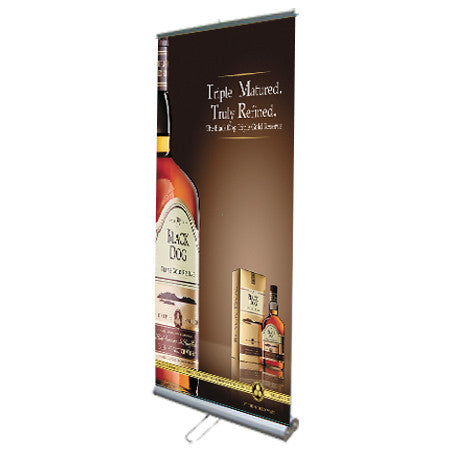 Double Sided Retractable Roll Up Banner Stand