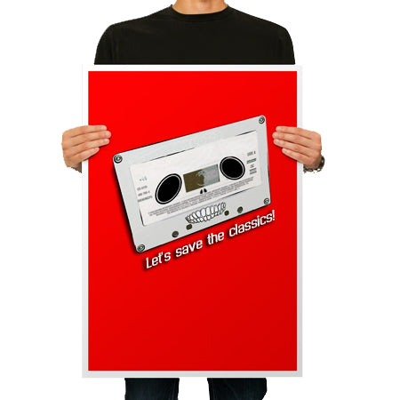 Posters 80LB Gloss Text