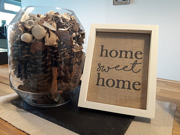 Home Sweet Home Print. - One Seven Studio & Design