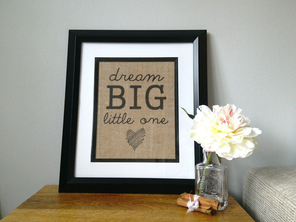 Dream Big Childrens Print - One Seven Studio & Design