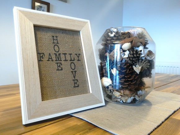 Home Family Love Print.-One Seven Studio & Design