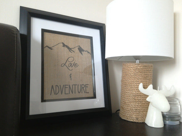 Love and Adventure Print-One Seven Studio & Design