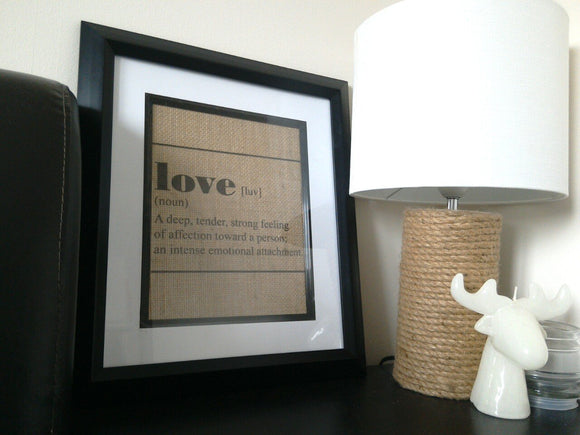 Love Dictionary Print - One Seven Studio & Design