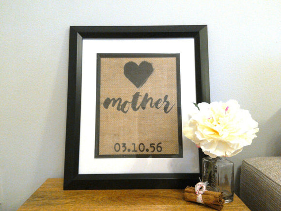 Mother/Father Custom Print-One Seven Studio & Design