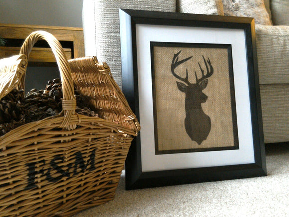 Stag Head Print - One Seven Studio & Design