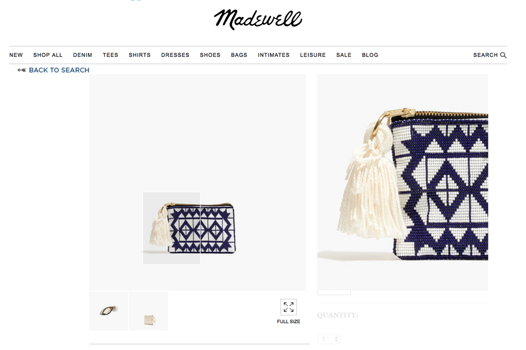 Beaded Products Now Available at @ madewell x mesogoods