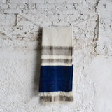 Winter Napped Wool Throw