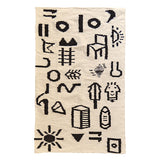 Sketch Graphic Wool Rug