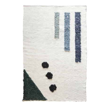 Notes Wool Rug