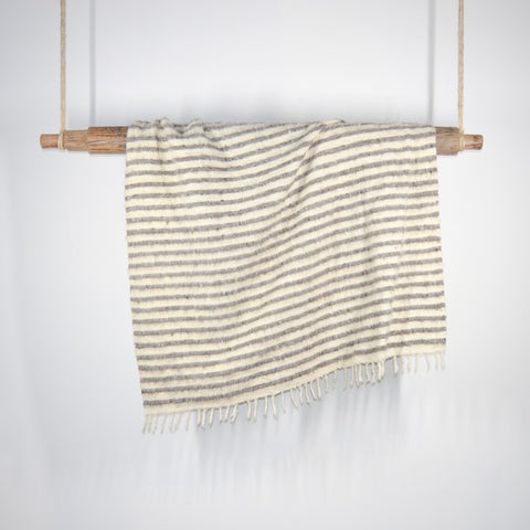 Abacá Napped Wool Throw