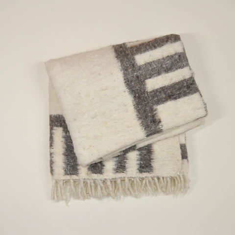 Jocote Napped Wool Throw
