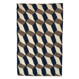 Blue & Grey Tile Rug