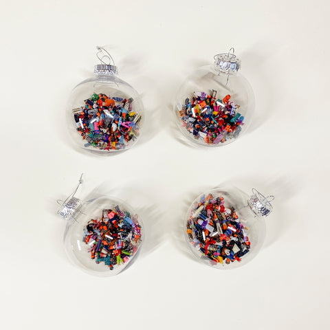 Set of 4 Worry Dolls Ornaments