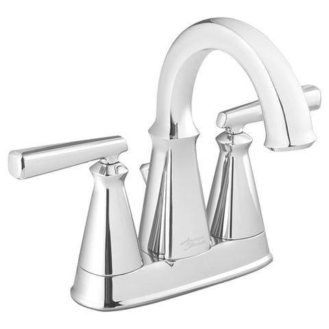 American Standard Edgemere 4 Centerset Bathroom Sink Faucet 7018201 - Faucets deLuxe