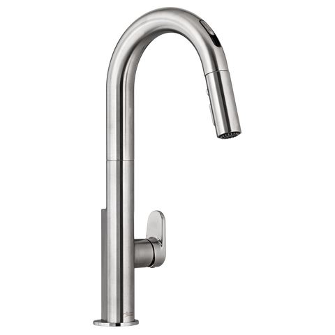 American Standard Beale Single Handle Pull Down Kitchen Faucet with Selectronic Hands-Free Technology 4931.380