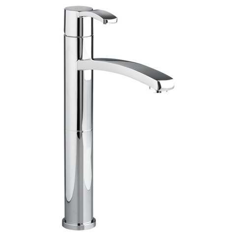 American Standard Berwick Monoblock Single Handle Vessel Bathroom Faucet Without Drain 7430.151