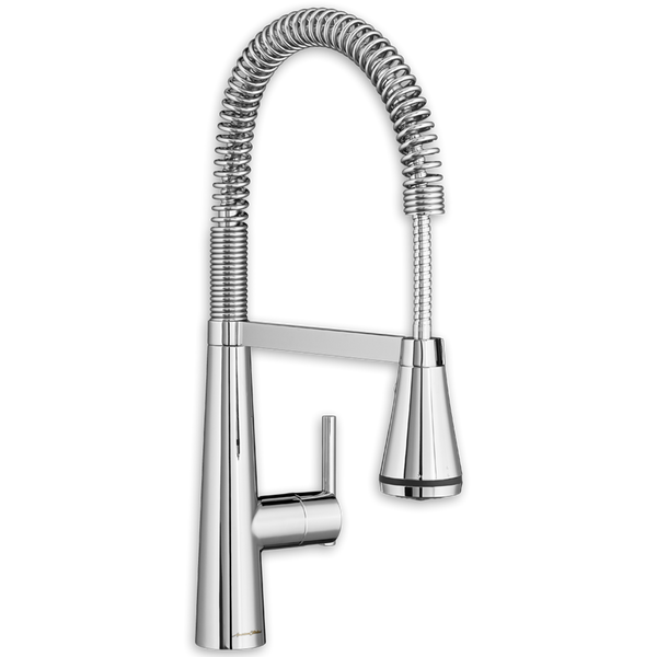 American Standard Edgewater Commercial Pre Rinse Pull Down Kitchen Faucet 4932.350
