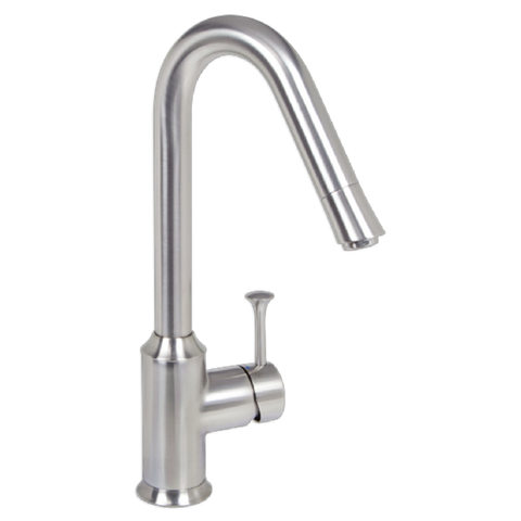 American Standard Pekoe Single Handle High Arc Kitchen Faucet 4332.001