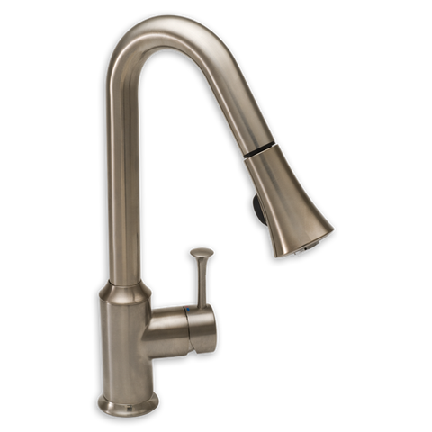 American Standard Pekoe Single Handle High Arc Pull Down Kitchen Faucet 4332.300