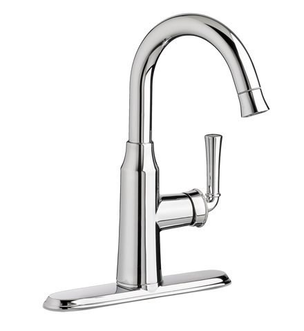 American Standard Portsmouth Single Handle High Arc Pull Down Bar Faucet 4285.410