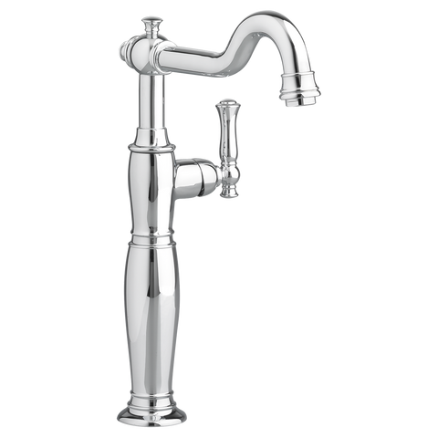 American Standard Quentin Single Hole One Handle Vessel Bathroom Faucet with Grid Drain 7440.152